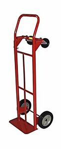 Milwaukee Hand Trucks 42152 Convertible Truck With 8 inch Puncture Proof Tires