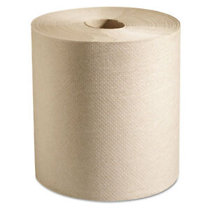 Marcal Hardwound Roll Paper Towels 7 7 8 X 800 Ft Natural 6 Rolls carton P728n
