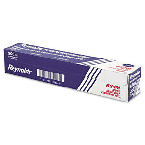 Reynolds Wrap Metro Aluminum Foil Roll Lighter Gauge Standard 18 X 500ft Silver