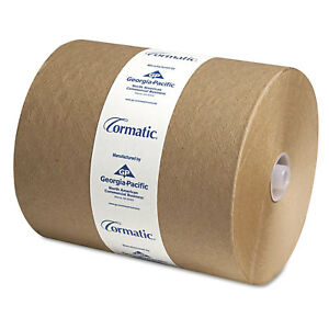 Georgia Pacific Hardwound Roll Towels 8 1 4 X 700ft Brown 6 carton 2910p