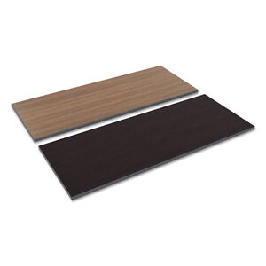 Alera Reversible Laminate Table Top Rectangular 59 1 2w X 23 5 8d Espresso