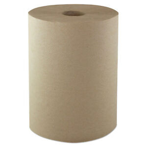 Morcon Hardwound Roll Towels 1 ply 10 X 800 Ft Kraft 6 ct R106