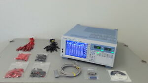 Yokogawa Wt1800 Power Analyzer W Options Wt1806 06 And Motor Plus More