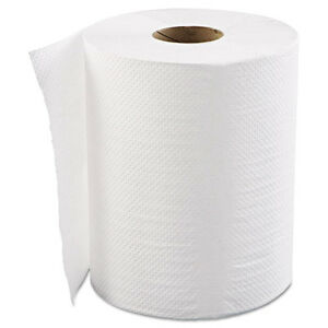Gen Hardwound Roll Towels 1 ply White 8 X 600 Ft 12 Rolls carton Hwtwhi