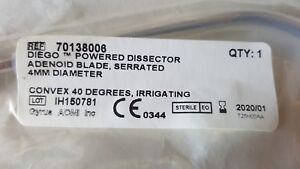 Gyrus Acmi 70138008 Diego Powered Dissector Adenoid Blade Expire 2020