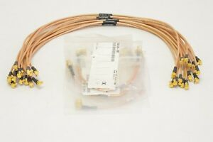 Lot 20x Florida Rf Jumper Rg316 Cables Male male Ts9 Right Angle Sma m f