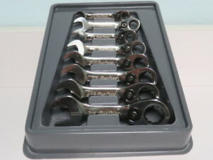Blue point 8pc Ratchet Wrench Set 5 16 3 4