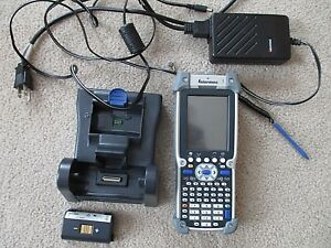 Intermec Ck61ni Wireless Barcode Scanner With Accessories