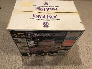 Never Used Brother Lx 900 Cool Laminator Laminating System Open Box Wear