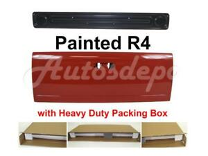 Painted R4 Flame Red Tailgate Access Panel For Dodge Ram Pickup 2002 2008