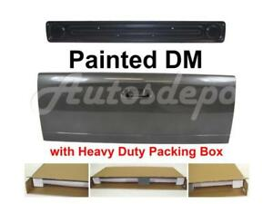 Painted Dm Mineral Gray Tailgate Access Panel For Dodge Ram Pickup 2002 2008