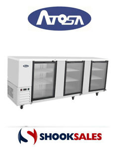 Atosa Mbb90g Commercial Restaurant Back Bar Coolers Fast Shipping