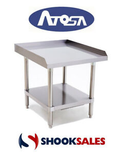 Atosa Atse 2824 Commercial Restaurant Stainless Steel Equipment Stand Fast Shipp