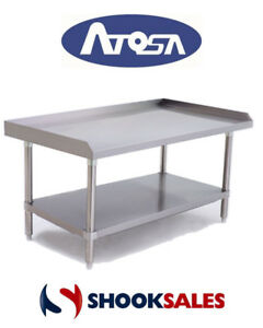Atosa Atse 2848 Commercial Restaurant Stainless Steel Equipment Stand Fast Shipp