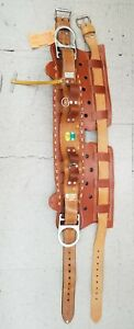 Bashlin Lineman 2 d Ring Tool Belt Model 88g Hip Grip D ring Size 25 Type 1 625