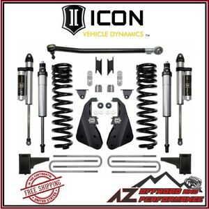 Icon 4 5 Suspension System Stage 2 Kit For 2017 Up Ford F250 F350 4wd
