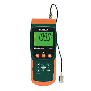 Extech Sdl800 Vibration Meter datalogger With Magnetic Adapter On 1 2m Cable