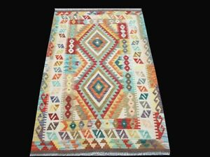 3 11 X 5 9 Hand Knotted Rug 4x6 Oriental Rugs Old Design Rug