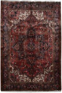 Hand Knotted Rug 7x9 Persian Traditional Rug