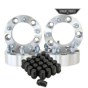 4 5x5 5 5x139 7 2 Wheel Spacers Adapter 1 2 20 Jeep Ford Dodge 20 Lug Nuts