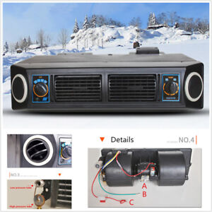 Universal Underdash Ac Evaporator 12v Heat Cool Air Conditioner Compressor Kit