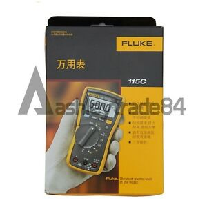 Fluke 115c Field Multimeter Backlight F115c New