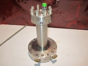 Mdc Varian Ultra High Vacuum Chamber With Water Cooling Ports 1 4 Fvcr