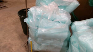 3 Huge Bags Full Of Packing Foam Each Bag 15lbs Minimum