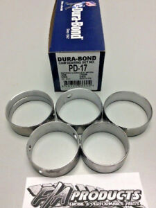 Big Block Mopar 383 400 440 426 Hemi Engine Camshaft Bearing Set Dura Bond Pd17