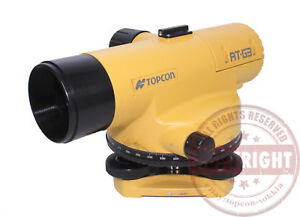 Topcon At g3 Automatic Level Surveying sokkia leica zeiss wild auto transit