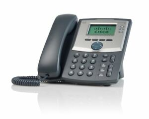 Cisco Spa 303 3 line Ip Phone Business Sets Handsets Telecom Systems Office
