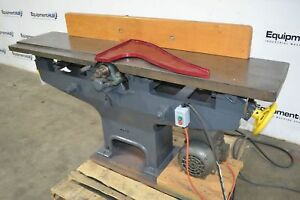 The Crescent Machine Co Vintage 12 Straight Knife Jointer Single Phase