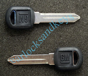 1995 1998 Gm Chevrolet Silverado Pickup Key Blanks Blank
