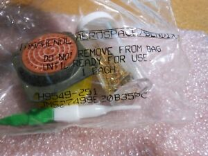 Amphenol Bendix Connector W contacts Ms27499e20b35pc Nsn 5935 01 199 2723