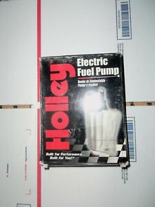 1986 1997 Ford Mustang Holley 12 902 255 Lph Electric Fuel Pump