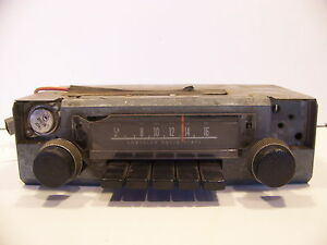 1973 Plymouth Duster Am Radio 3501622 Fits Dart Duster Demon A body Mopar