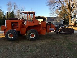 Ditch Witch R100 Trencher Combo John Deere Low Hours Good Condition