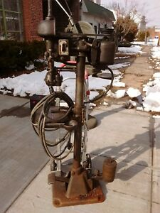Enco Tapping Machine Drill Press With Foot Peddle