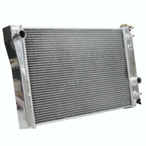 3 Row Aluminum Radiator For 1984 1990 Chevrolet Corvette C4 Small Block 5 7l V8