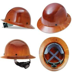 Skullgard Hard Hat Natural Tan With Fas trac Suspension Protective Safety Helmet