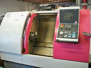 2000 Gildemeister Ctx 400 Cnc Lathe With Lots Of Tooling