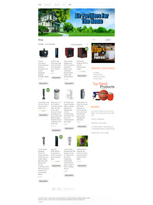 Air Purifier Amazon Turnkey Website Blog For Sale