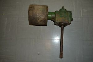John Deere M Tractor Belt Pulley And Gear Box