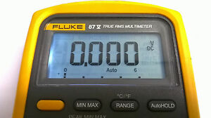 Fluke 87v Display Repair Kit And Step By Step Photo Instructions