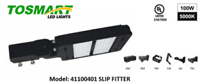 (2) LED Commercial Street Lamp Area Security Light Parking Spotlight Fixture  $178.00