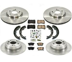 Brake Rotors For Acura Tl 3 2l With Manual Transmission 04 08 W Brembo Calipers
