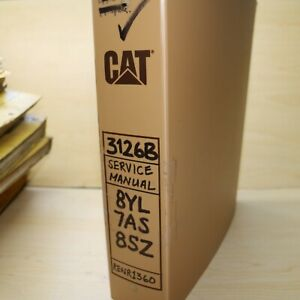 Cat Caterpillar 3208 Industrial Engine Service Manual Shop Repair Overhaul Book