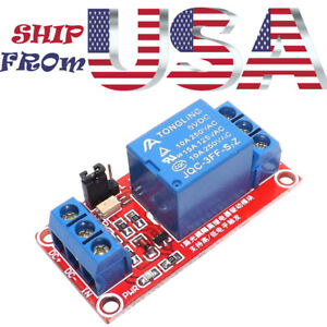5v 1 Channel Relay Module Board Led For Arduino Pic Arm Avr