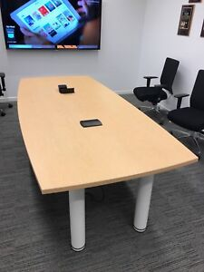 Abco Table Conference Table excellent Condition Suitable For 8 10 People Use