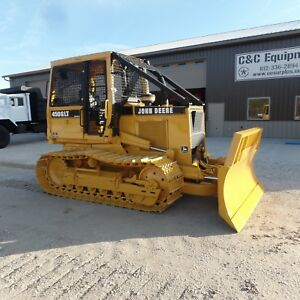 1994 John Deere 450g Dozer With Front Winch Good Shape Ex Government Low Hours